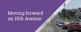 Update - Moving forward on 15th Avenue - September 2019