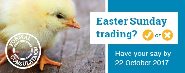 Should shops in Tauranga be allowed to open on Easter Sunday?