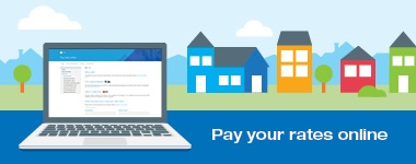Easy and safe online options to pay your rates by Feb 28!