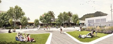 Mount Maunganui urban space development