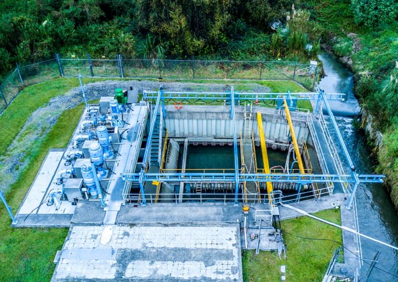 Oropi Treatment Plant aerial