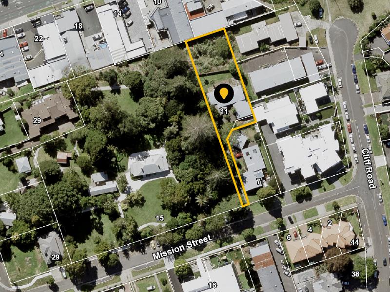 Mission Street map