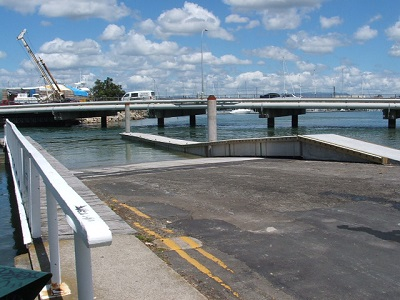 Example of boat ramp