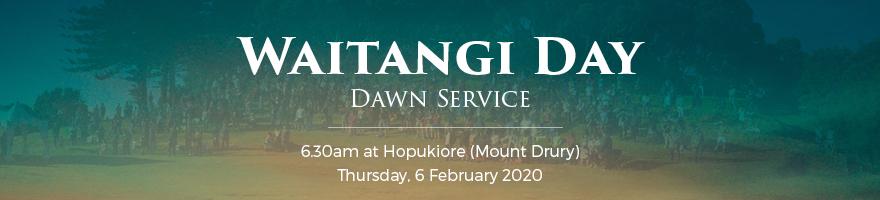 Waitangi Day banner