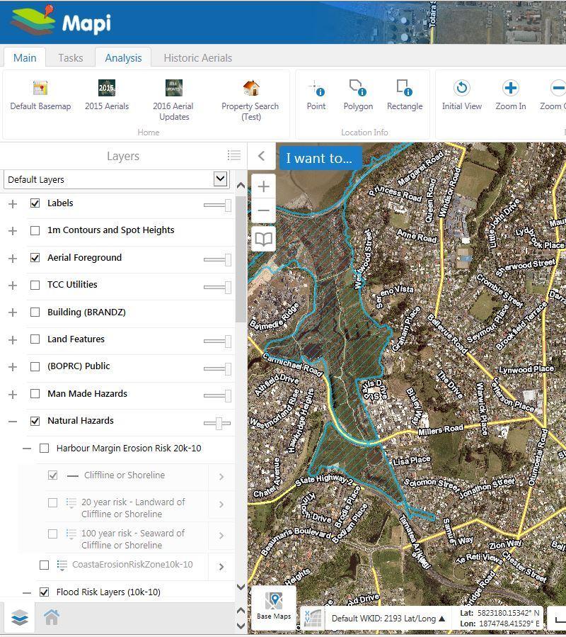 View Flood Hazard Maps Tauranga City Council - Flooded roads map