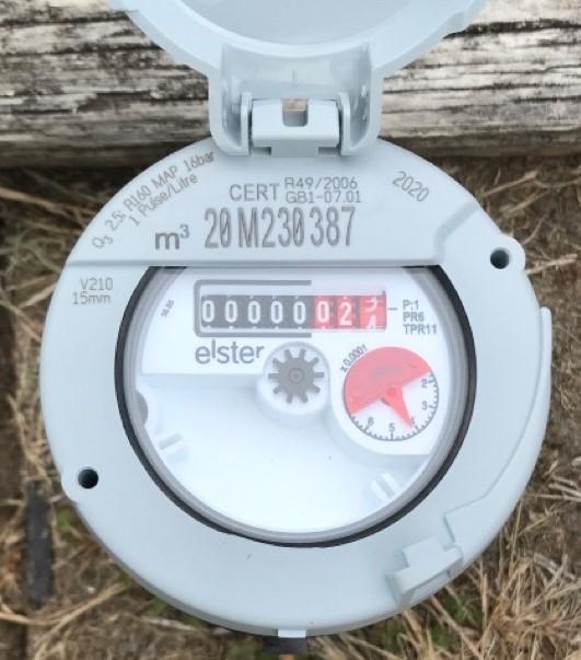 Water meter example