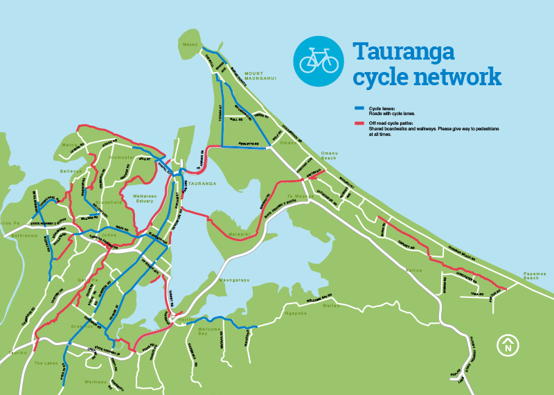 cycle network map