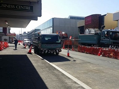 Durham Street - Barriers Removed from West Side