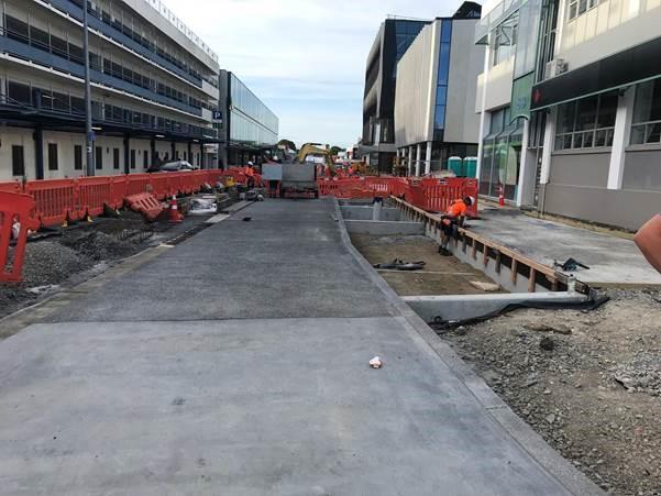 Durham Street progress