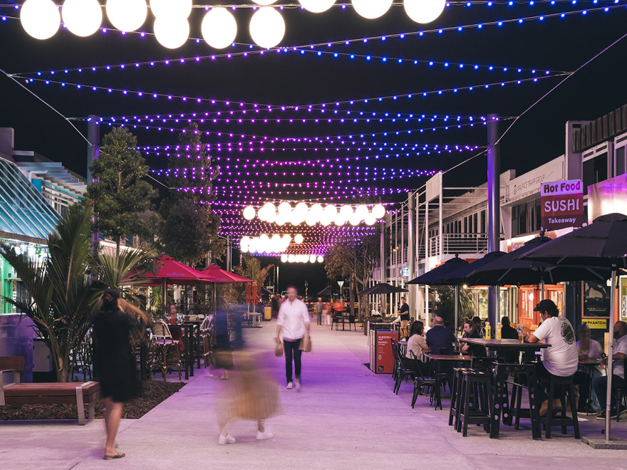 Wharf Street lights