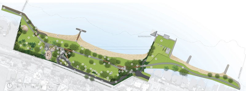 Kulim Park concept plan (as of October 2019)