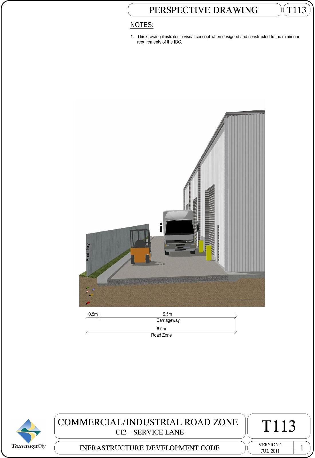 C12 - Service Lane