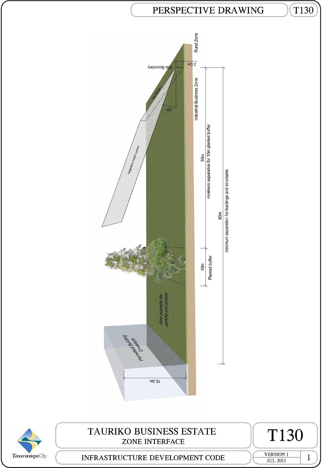 Tauriko Business Estate - Zone Interface