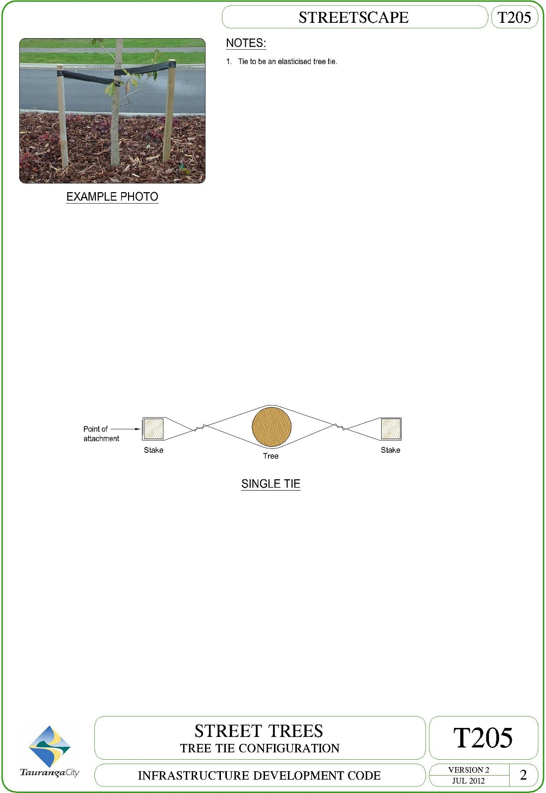 Tree Tie Configuration