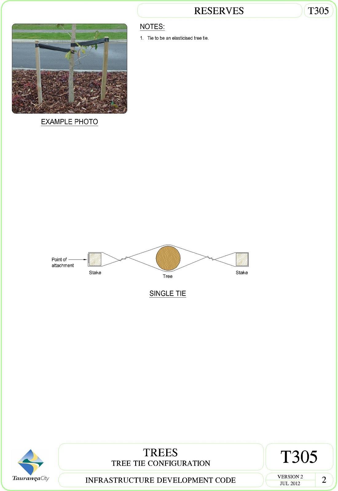 Tree Tie Configuration