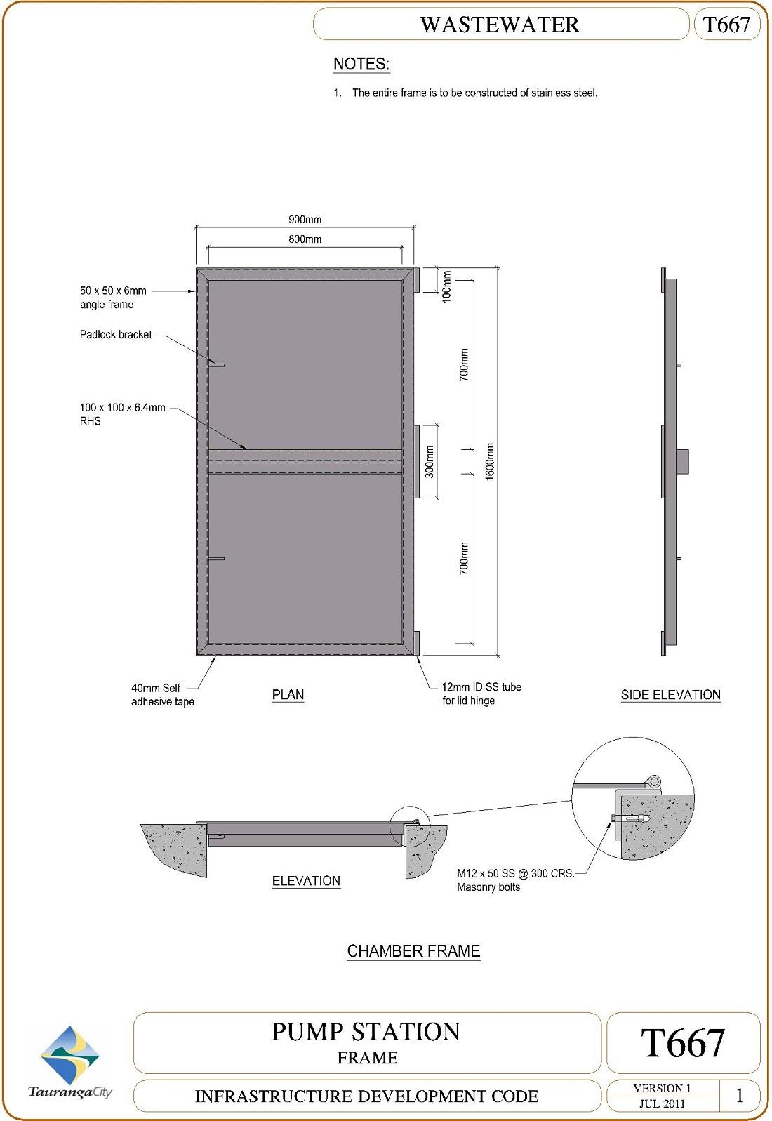 Pump Station - Frame