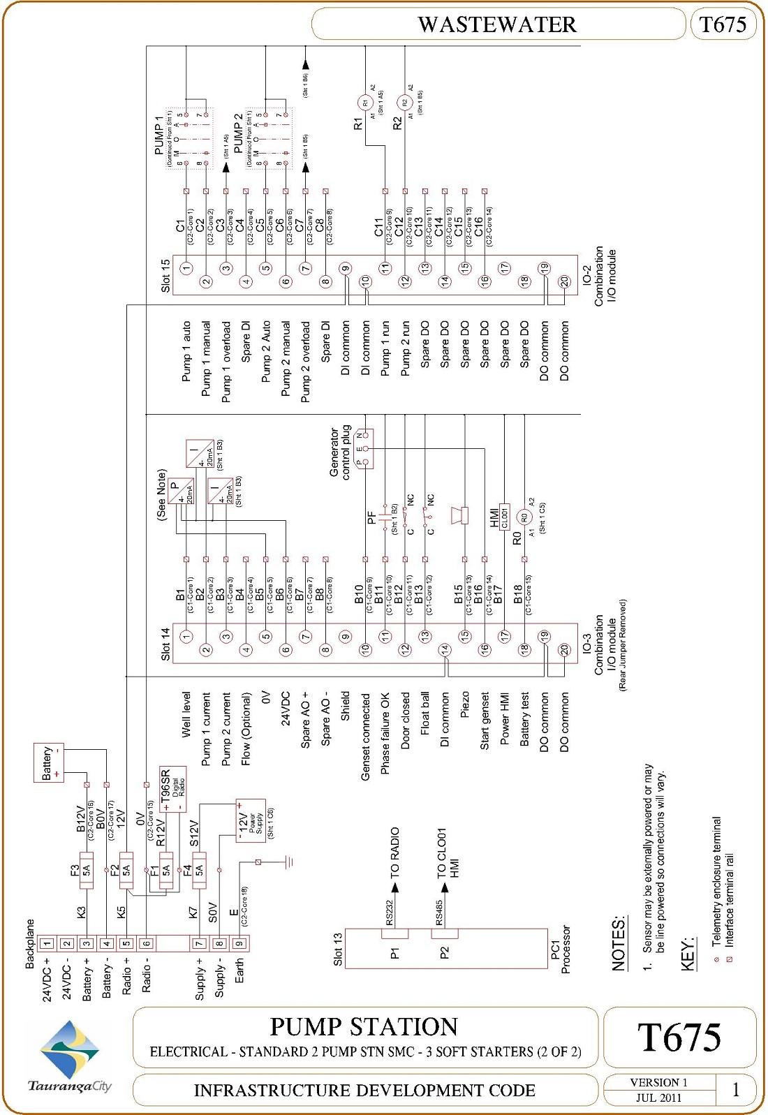 Pump Station - Electrical - Standard 2 Pump Stn SMC - 3 Soft Starters (2 of 2)