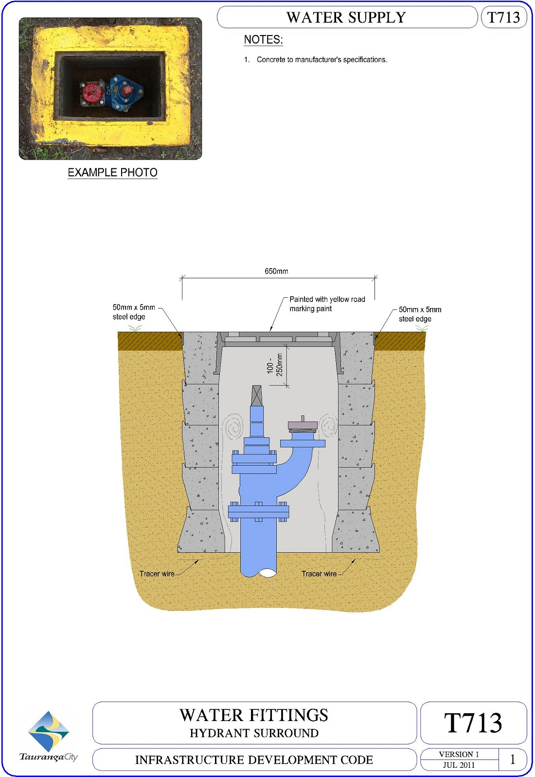 Hydrant Surround