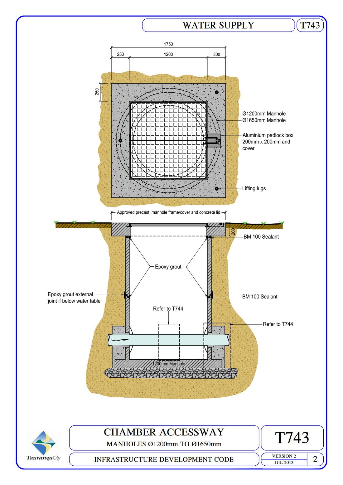 Manhole - Class B Loading