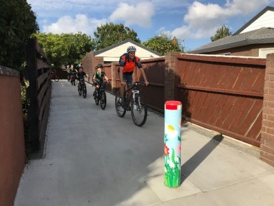 Improvement of walking/cycling connections