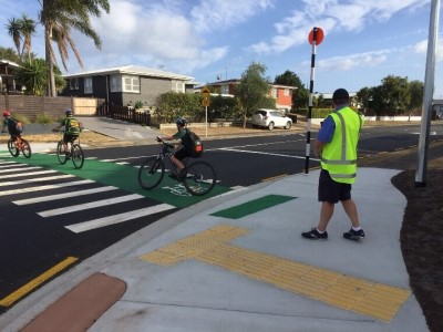 Links/Concord/Farm Street intersection safety upgrade