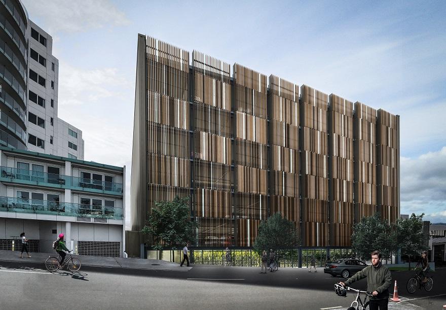 Harington Street Parking Building Redevelopment Tauranga City Council
