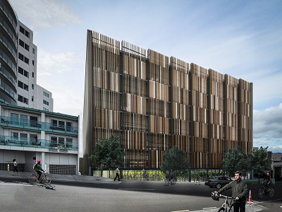 Harington Street parking building redevelopment