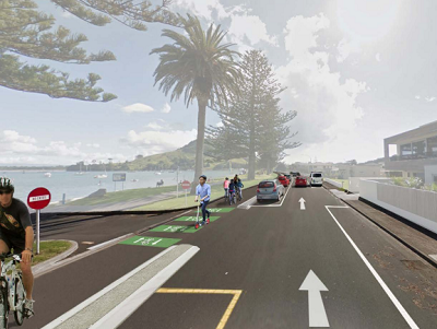 Mount Maunganui one way trial